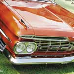 <strong>'59 Chevy Bel Air Gatefold Front</strong> - Photoshop, Quark; print size 22 by 10